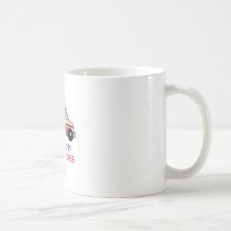 MY DADDY SAVES LIVES CLASSIC WHITE COFFEE MUG