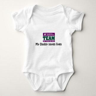 My Daddy saves lives Tee Shirts