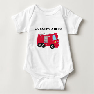 My Daddy's A Hero Firefighter Infant T-shirt