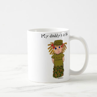 My daddy's a hero .. mug