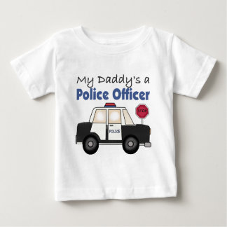 My Daddy's A Police Officer Baby T-Shirt