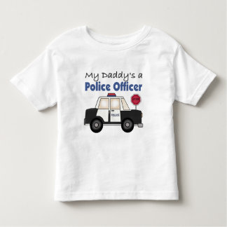 My Daddy's A Police Officer Toddler T-shirt