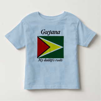 My daddy's roots guyana kids t-shirts
