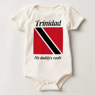 My daddy's roots trinidad kids t-shirts