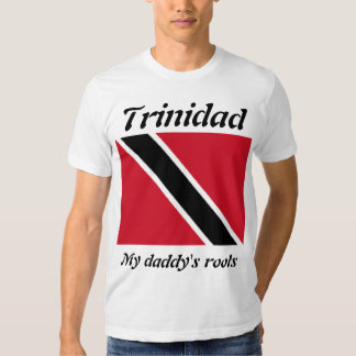 My daddy's roots Trinidad mens  t-shirts