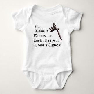 My Daddy's Tattoos Baby Bodysuit