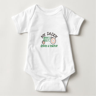 My Daddys Tractor Baby Bodysuit