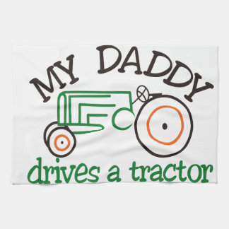 My Daddys Tractor Hand Towels
