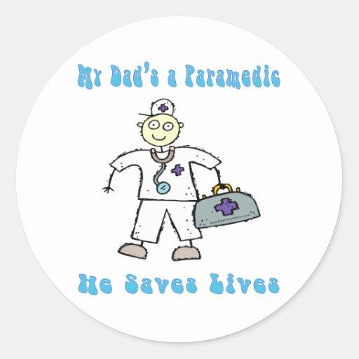 My Dads a paramedic sticker