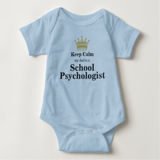 My Dad's A School Psychologist Baby Bodysuit