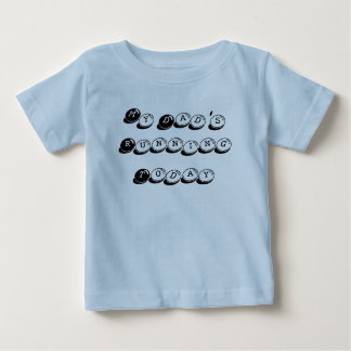 My Dad's Running Today Baby T-Shirt