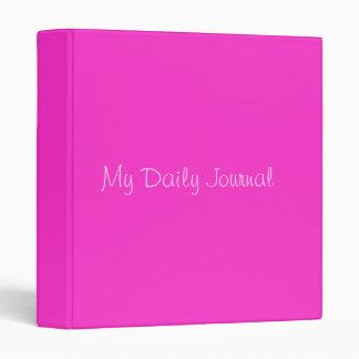 My Daily Journal Binder