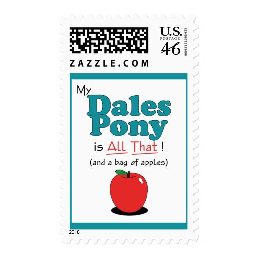 My Dales Pony is All That! Funny Pony Postage