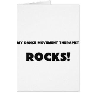 MY Dance Movement Therapist ROCKS! Card