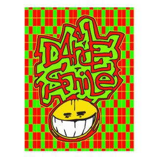 My Dance Smile Postcard