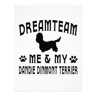 My Dandie Dinmont Terrier Dog Letterhead