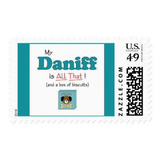 My Daniff is All That! Postage