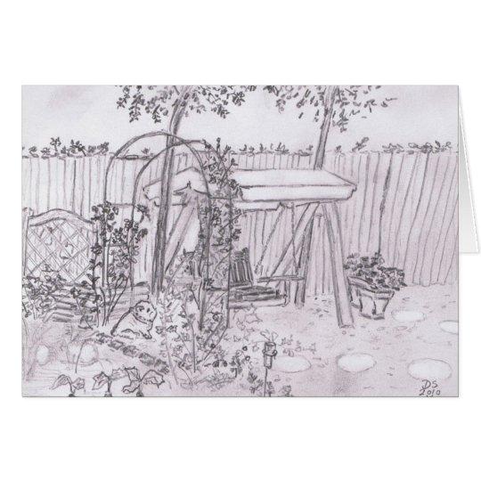 My Danish Garden Card