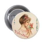 My Darling Valentine Button