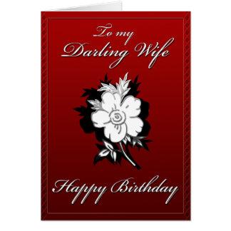 My Darling Wife Birthday card