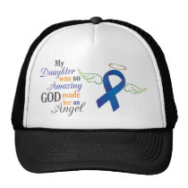 My Daughter An Angel - Anal Cancer Trucker Hat