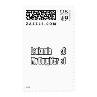 My Daughter Beat Leukemia (Scoreboard) Stamp