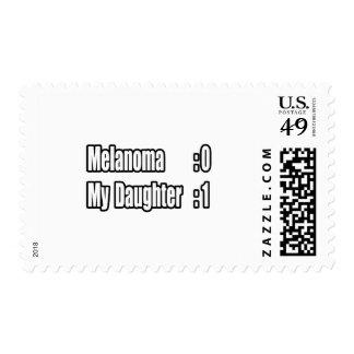 My Daughter Beat Melanoma (Scoreboard) Postage Stamps