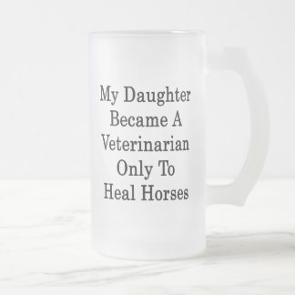 My Daughter Became A Veterinarian Only To Heal Hor Coffee Mug