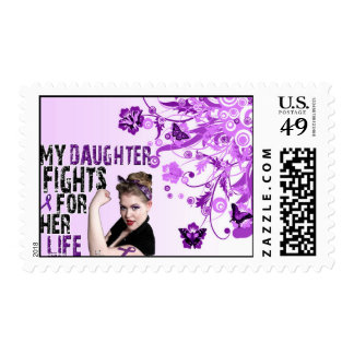 My daughter fights for her life.. Postage Stamp