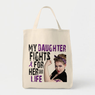 My DAUGHTER fights for her life... Tote Bag