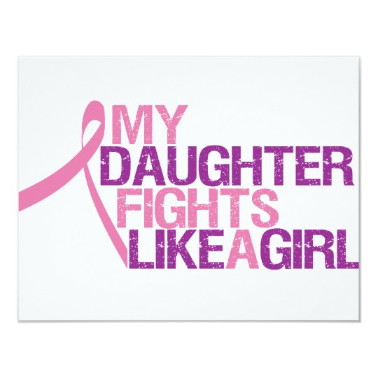 my daughter fights like a girl card