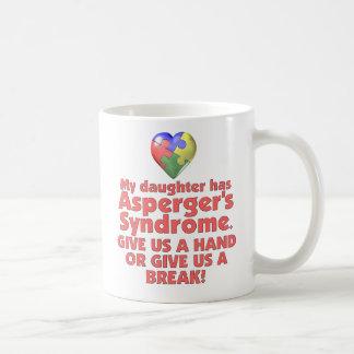 My Daughter Has Asperger's Coffee Mug