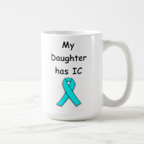 My Daughter has IC Coffee Mug