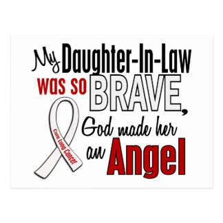 My Daughter-In-Law Is An Angel Lung Cancer Postcard