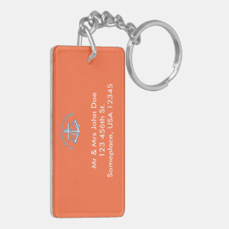 My Daughter Is A Coastie Double-Sided Rectangular Acrylic Keychain