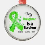 My Daughter is a Lymphoma Survivor Ornament