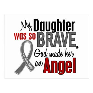 My Daughter Is An Angel 1 Brain Cancer Postcards