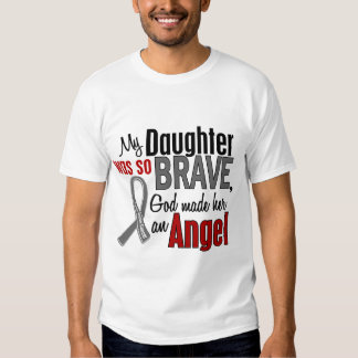 My Daughter Is An Angel 1 Brain Cancer T Shirt