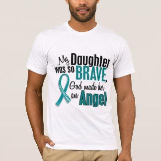 My Daughter Is An Angel 1 Ovarian Cancer T-Shirt