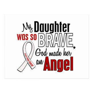 My Daughter Is An Angel Lung Cancer Postcard