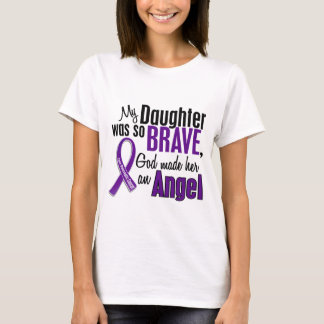 My Daughter Is An Angel Pancreatic Cancer T-Shirt