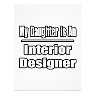 My Daughter Is An Interior Designer Flyer