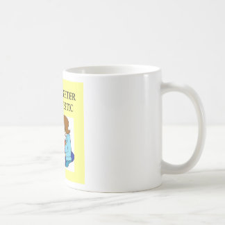 my daughter is autistic classic white coffee mug