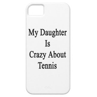 My Daughter Is Crazy About Tennis iPhone SE/5/5s Case