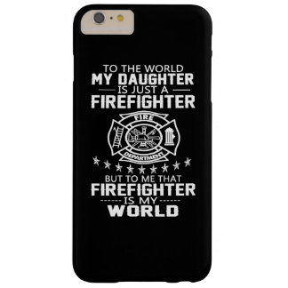 MY DAUGHTER IS FIREFIGHTER BARELY THERE iPhone 6 PLUS CASE