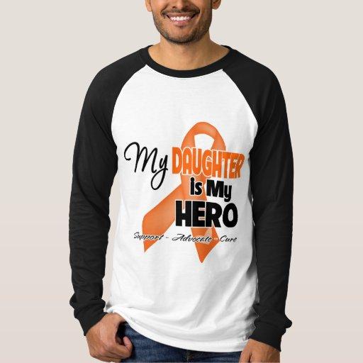 My Daughter is My Hero - Leukemia T Shirts