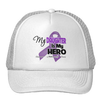 My Daughter is My Hero - Purple Ribbon Trucker Hat