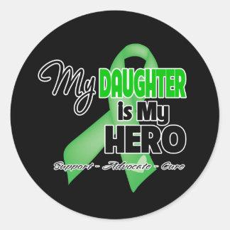 My Daughter is My Hero - SCT BMT Classic Round Sticker