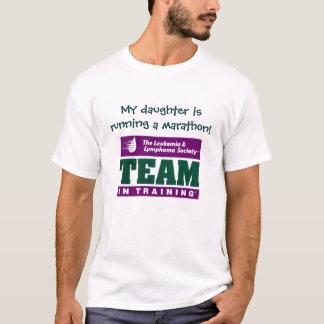 My daughter is running a marathon! T-Shirt