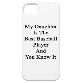My Daughter Is The Best Baseball Player And You Kn iPhone 5 Covers